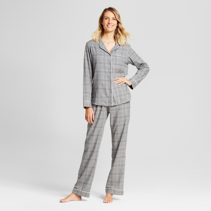 Pajama Set Grey