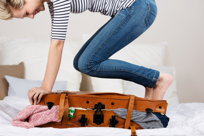 woman-who-didnt-use-smoky-mountain-vacation-packing-tips