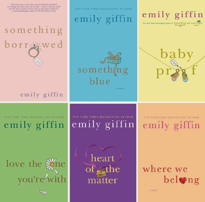 Image result for emily giffin books